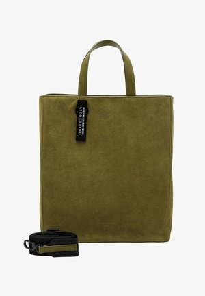 HYDRO  PAPER  - Shopping Bag - moss