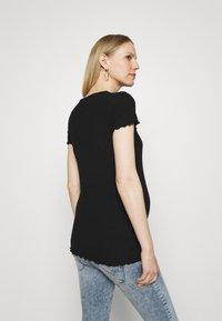 ONLY - OLMEMMA - T-shirts - black - 2