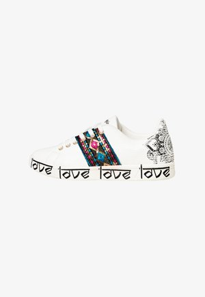 SHOES_COSMIC_EXOTIC INDIAN - Trainers - white