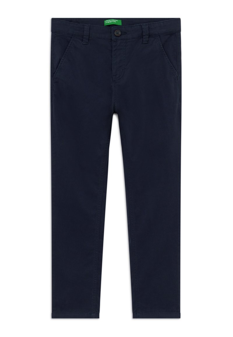Benetton - TROUSERS - Chino kalhoty - dark blue