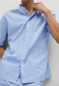 Mango - Pyjama top - blauw - 5