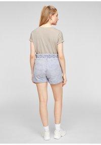 Q/S designed by - Basic T-shirt - beige - 2