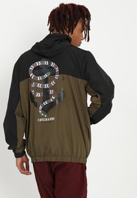 Cayler & Sons - WL ANCHORED ZIP ANORAK - Windbreaker - black/olive - 2