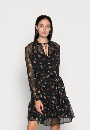 VERONICA DRESS - Denní šaty - black