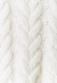 Marc O'Polo DENIM - ROLL NECK WITH CHUNKY CABLES - Jumper - scandinavian white - 2