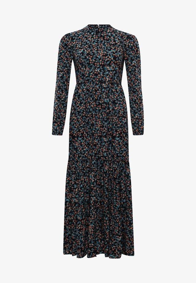 Długa sukienka - autumn daisy