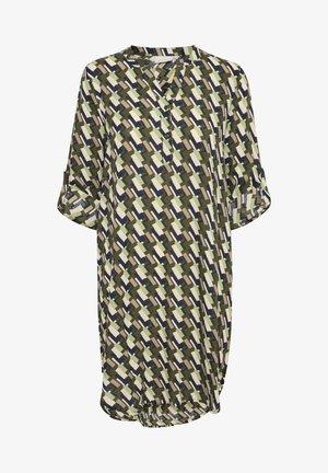 KALARANE  - Shirt dress - green retro square print