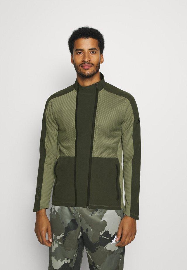 TRACKSUIT JACKET - Training jacket - leg green