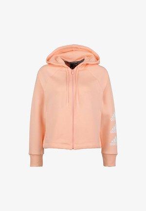 STACKED  - Zip-up hoodie - haze coral