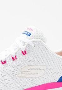 Skechers Sport - FLEX APPEAL 3.0 - Sneakers - white/multicolor - 2