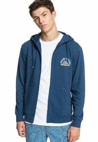 Quiksilver - Zip-up sweatshirt - sargasso sea - 0