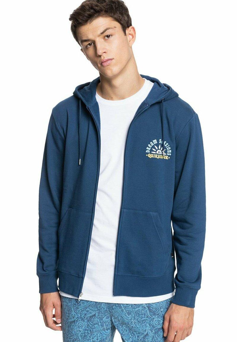 Quiksilver - Zip-up sweatshirt - sargasso sea
