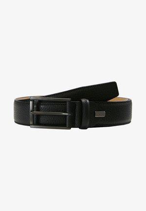 REGULAR - Formální pásek - schwarz