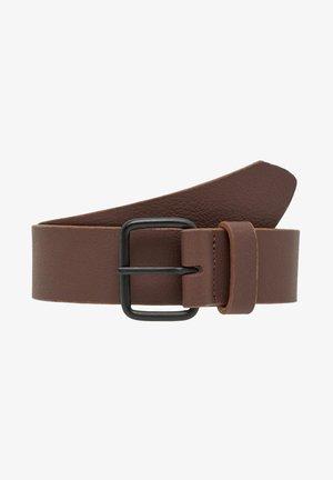Belt business - brown stone