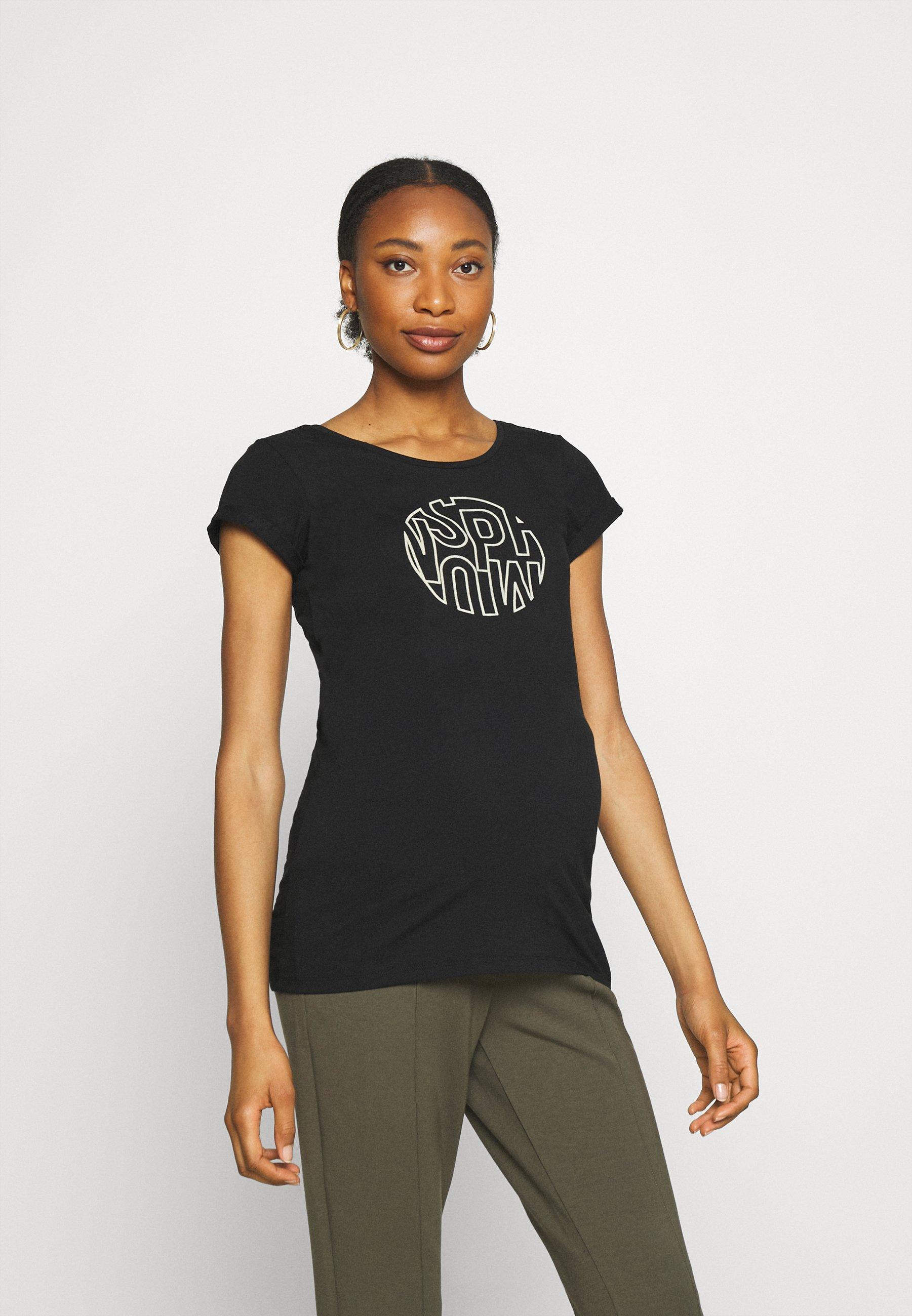 Women TEE SUPERMOM - Print T-shirt