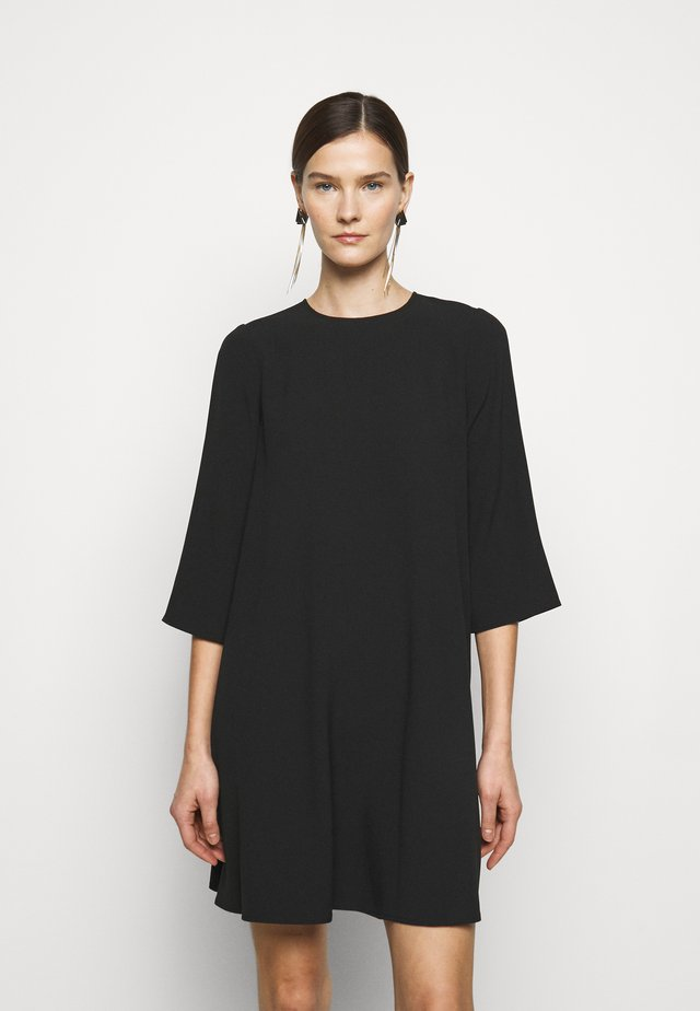 ERMINIA - Korte jurk - black