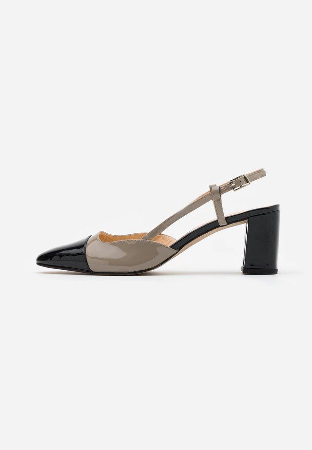 DHAPOP - Classic heels - noir/gris