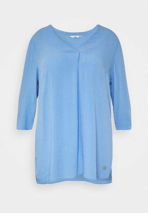 Blouse - sea blue