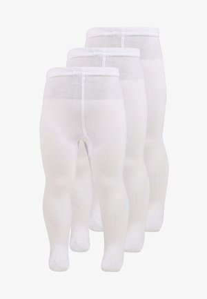 3 PACK  - Tights - weiss