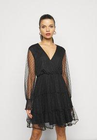 YAS Petite - YASLISSO DRESS - Cocktail dress / Party dress - black - 0
