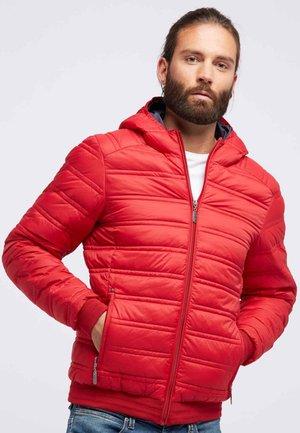 Light jacket - dark red