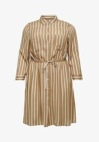 ONLY Carmakoma - Shirt dress - tannin - 3
