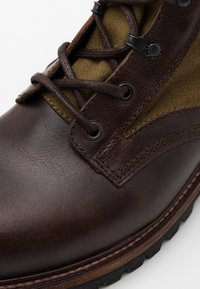 Belstaff - TROOPER BOOT - Bottines à lacets - cognac - 5
