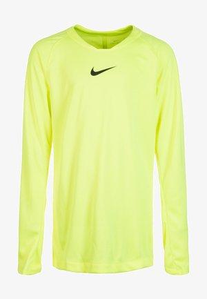 Sports shirt - neon yellow