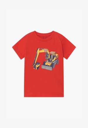 SMALL BOYS - Print T-shirt - tomate
