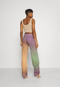 Jaded London - RUCHED HEM PRINTED JOGGERS - Trousers - multi - 2
