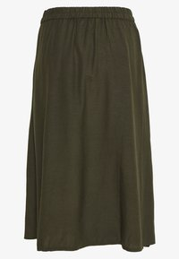 ONLY - ONLVIVA LIFE NEW BUTTON SKIRT  - A-Linien-Rock - forest night - 1