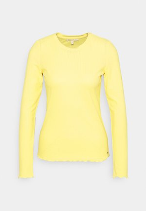 LONGSLEEVE - Long sleeved top - soft yellow