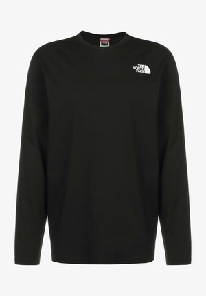 Long sleeved top - black summit gold