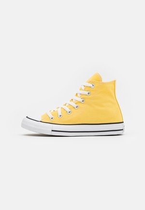 CHUCK TAYLOR ALL STAR - Korkeavartiset tennarit - butter yellow