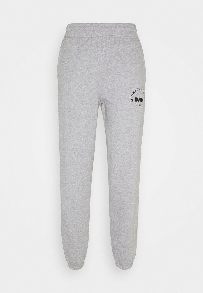 Mennace - UNISEX MENNACE CLUB - Pantalon de survêtement - grey marl