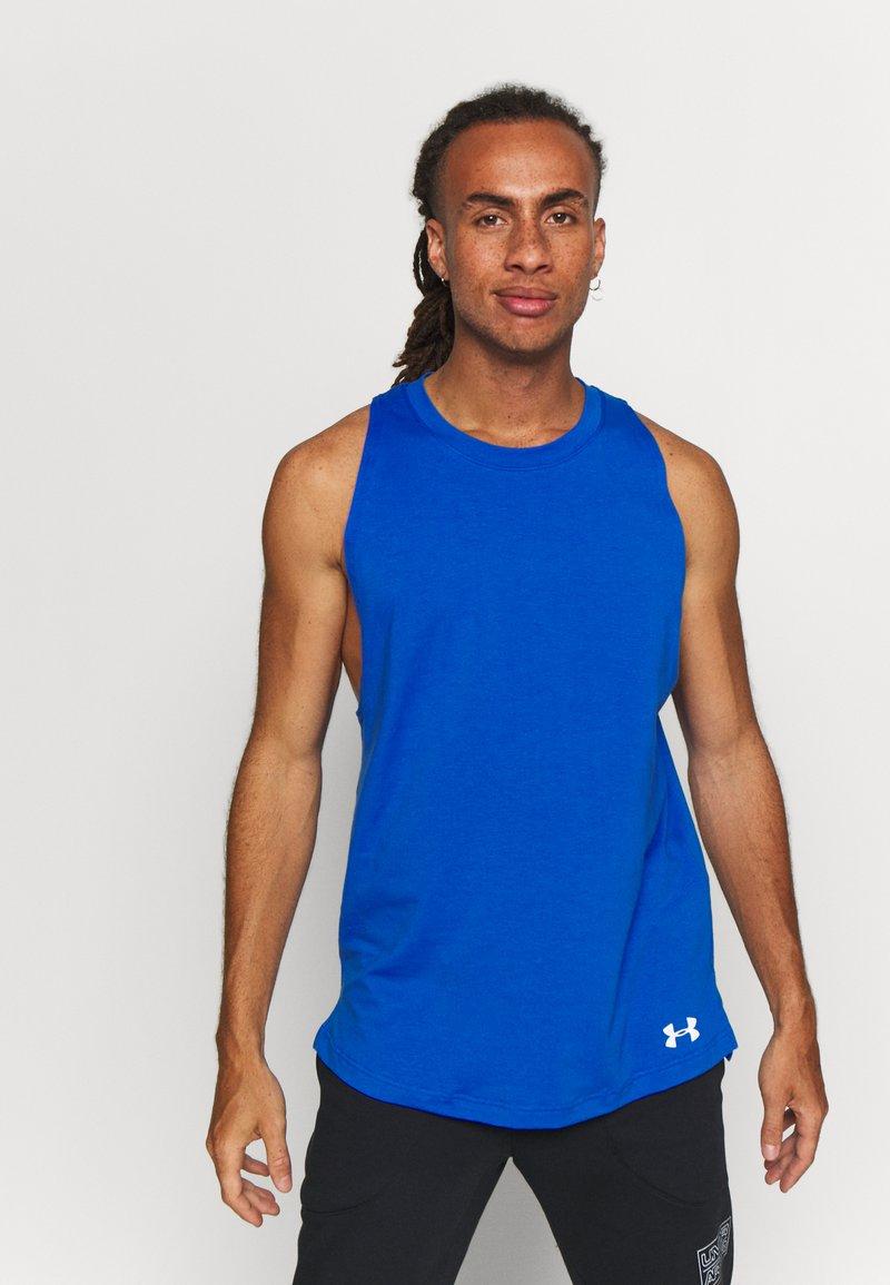 Under Armour - BASELINE  - Sports shirt - versa blue/white