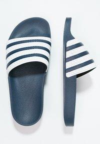 adidas Originals - ADILETTE - Sandály do bazénu - adiblu/white - 1