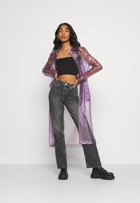Juicy Couture - VIRGINIA SHEER COAT - Manteau classique - pastel lilac - 1