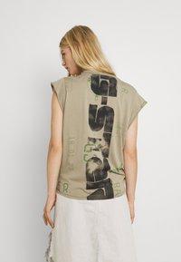 G-Star - GSRAW KNOT  - T-shirt print - hatton contour - 2