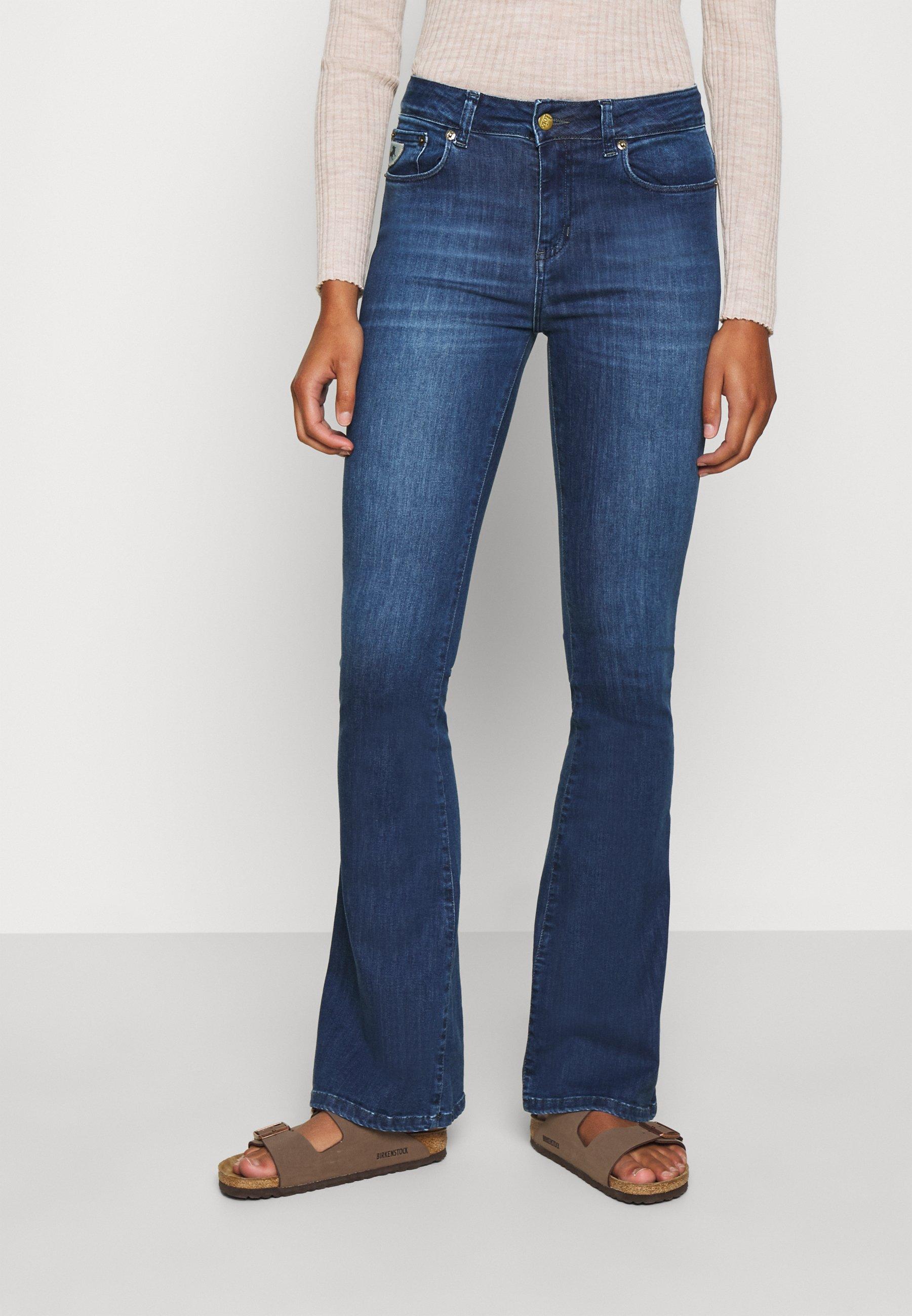 Damen RAVAL - Flared Jeans