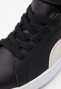 Puma - SMASH MID - Sneakers alte - black/white - 5