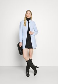 Esprit Collection - SHORT COAT - Short coat - pastel blue - 1
