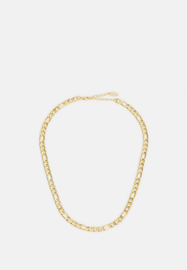 FLAT LARGER LINK CHAIN - Ketting - gold-coloured