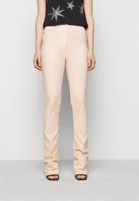 Patrizia Pepe - PANTALONI TROUSERS - Trousers - pink dune - 0