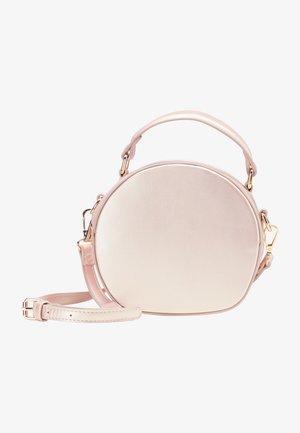 Handbag - rosa metallic