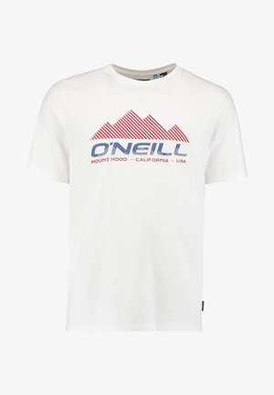 DAN - T-Shirt print - powder white