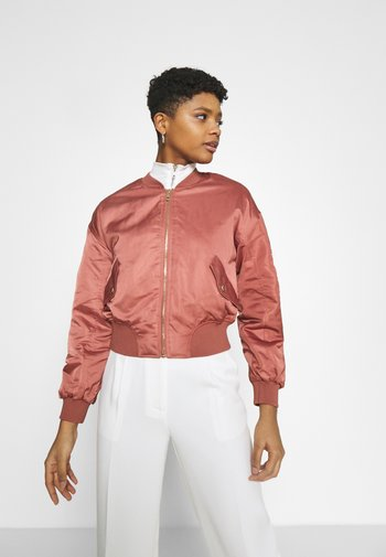 SPRING  - Bomber Jacket - withered rose