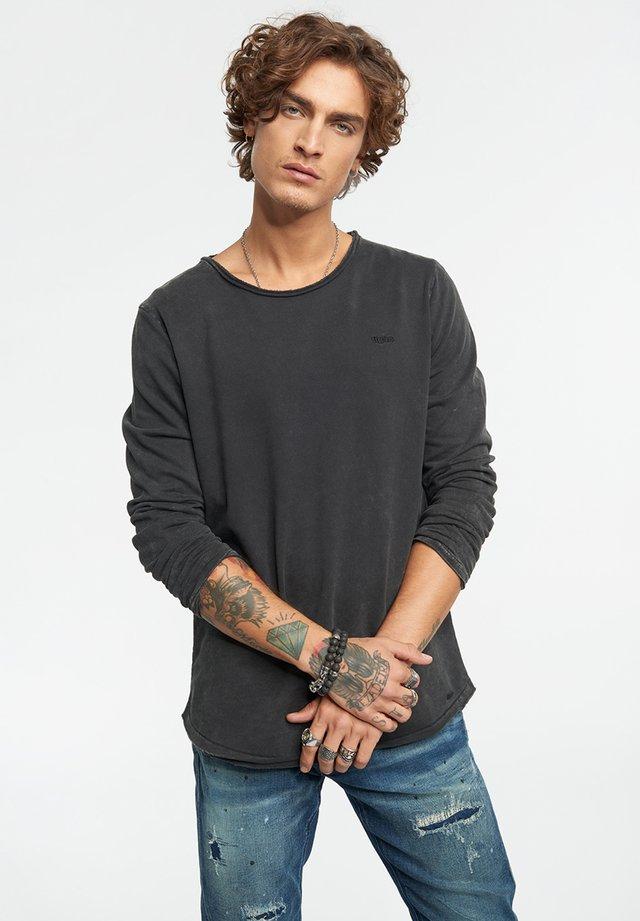 MILO  - T-shirt à manches longues - vintage black