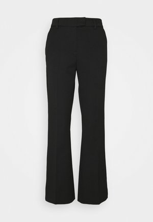 SLFKRIS FLARED PANT - Trousers - black