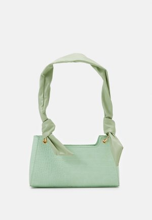 PCBELLIA SHOULDER BAG - Handbag - fresh mint/gold-coloured